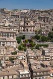 Modica Ragusa Sicilien, Italien Arkivfoton