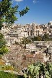 Modica in Sicilië Italië royalty-vrije stock afbeelding