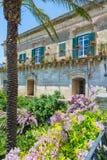 MODICA SICILIA PANORAMA. Modica Sicily, Italy - An ancient noble palace Stock Image