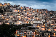 Modica in Sicily Royalty Free Stock Images