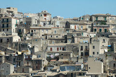 Modica Skyline3 Photos libres de droits