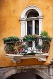 Modieus balkon Royalty-vrije Stock Foto's