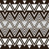 Modieus elegant modern zwart-wit naadloos patroon vector illustratie