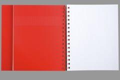Modieus notitieboekje Stock Foto's