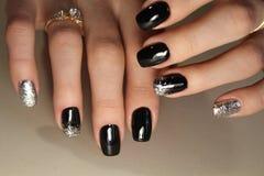 Modieus ontwerp van manicure Stock Afbeelding