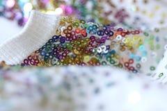 Modieus spangly kledingstuk royalty-vrije stock foto's