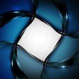 Modieuze abstracte achtergrond Vector illustratie Stock Foto