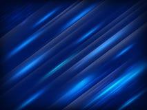 Modieuze blauwe achtergrond Eps 10 Royalty-vrije Stock Afbeelding