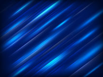 Modieuze blauwe achtergrond Eps 10 Stock Foto's