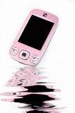 Modieuze cel-telefoon. Stock Afbeelding