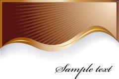Modieuze chocoladeachtergrond Royalty-vrije Stock Afbeeldingen