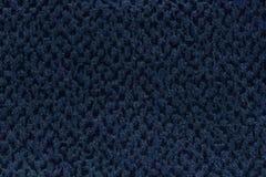 Modieuze diepe blauwe textielachtergrond voor uw uniek project vector illustratie