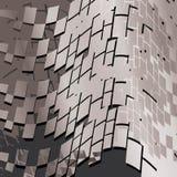 Modieuze futuristische abstracte achtergrond Royalty-vrije Stock Fotografie