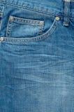 Modieuze gewassen jeans Stock Afbeelding