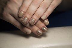 modieuze manicurespijkers Royalty-vrije Stock Fotografie