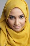 Modieuze muslimahvrouw royalty-vrije stock foto's