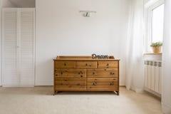 Modieuze opmaker perfect voor een slaapkamer stock fotografie