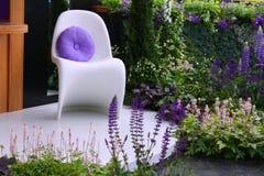 Modieuze stoel Stock Foto's