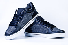 Modieuze tennisschoenen. Royalty-vrije Stock Afbeelding