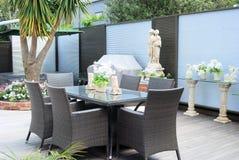 Modieuze tuin Royalty-vrije Stock Foto