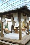 Modieuze veranda Royalty-vrije Stock Foto's