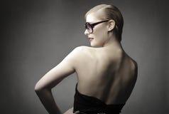 Modieuze vrouw Royalty-vrije Stock Foto's