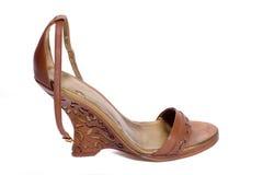 Modieuze vrouwenschoen Stock Afbeelding