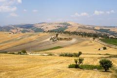 Modific il terrenoare in Basilicata (Italia) Immagine Stock Libera da Diritti