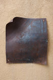 Modifica arrugginita del metallo Fotografie Stock Libere da Diritti