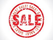 Modifica astratta del grunge di vendita illustrazione di stock