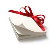 Modifica in bianco del regalo Immagine Stock Libera da Diritti