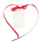 Modifica con il merletto del cuore Fotografie Stock Libere da Diritti