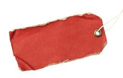 Modifica di colore rosso di Grunge Fotografie Stock