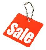 Modifica di vendita isolata Fotografia Stock Libera da Diritti