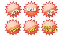 Modifica di vendita per uso Fotografia Stock