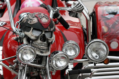 Modifica fatta a mano del motociclo Fotografia Stock Libera da Diritti