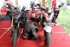 Modification motorcycle Stock Image