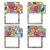 modifiche con i fiori colorati Immagine Stock Libera da Diritti