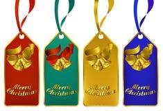 Modifiche del regalo di Buon Natale illustrazione di stock
