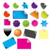 Modifiche lucide di vendita per il commercio Fotografie Stock