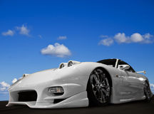 Modified Car stock photography