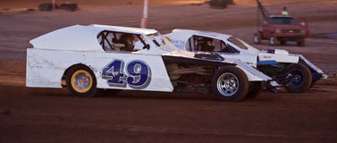 Modified Car Racing Royalty Free Stock Image