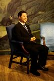 Chinese president xi jinping wax statue at madame tussauds in hong kong stock images
