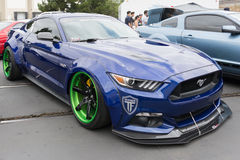 Modified Ford Mustang Stock Image