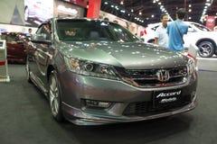 Modified Honda Accord on display stock photography