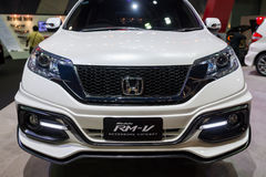 Modified Honda CR-V RM-V on display Royalty Free Stock Images