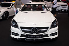 Modified Mercedes Benz on display Royalty Free Stock Photo