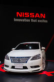 Modified Nissan Sylphy on display Stock Photos