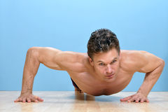 Modified pushup Stock Photography