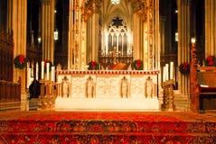 Modifiez à la cathédrale de rue Patrick, Manhattan, NYC photos stock